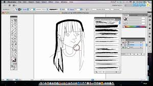 how to use brushes in adobe illustrator youtube