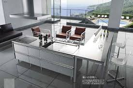 japanese kitchen design with modern space saving design japanese
