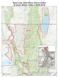 Utah County Map 2016 Bear Lake Bear River Cache Valley And Upper Weber Valley