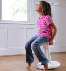 kore kids wobble chair green