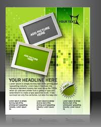 free flyer design stylish brochure flyer design vector graphic 07 vector cover