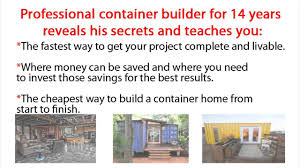 container home build shipping container home step by step guide