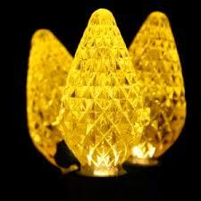 Yellow C9 Lights Premium C9 Yellow Led Lights
