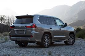 jeep lexus 2016 2016 lexus lx570 refreshed in time for pebble beach