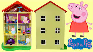 nick jr peppa pig lights and sounds family home house george