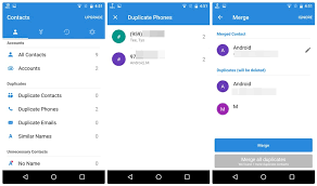 contacts app android how to merge or delete duplicate contacts on android the android
