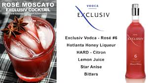 cocktails in the kitchen rosé moscato cocktail exclusiv