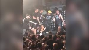 violence breaks out between security and neck deep at rock city