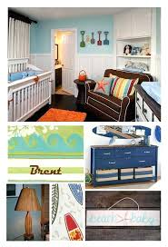 Surfer Crib Bedding Themed Nursery Decor Themed Nursery Bedding Home
