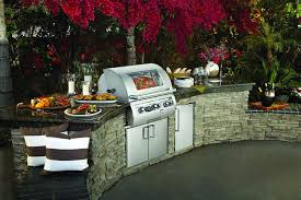 Patio Grills Built In High End Built In Barbecues Get Wsj