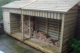 wood store medium log store 4m the wooden workshop oakford