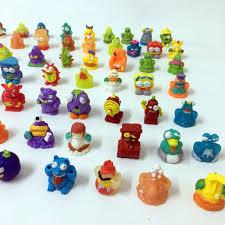 50pcs lot soft toys capsule dolls 3cm trash pack