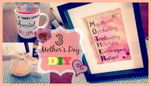 Mother S Day Gifts Homemade by Easy Diy Gifts For Mom Birthday Buzzchat Co Do It Yourself