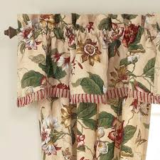 laurel springs floral window treatment by waverly