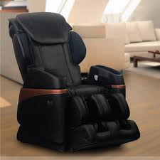 Massage Armchair Recliner Titan Osaki Black Faux Leather Reclining Massage Chair Os