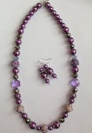 jewelry sales black friday brazilian dark purple necklace purple necklace purple earrings