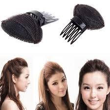 hair puff new pad puff hair princess noble fluffy hair clip tools women hair