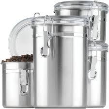 black canister sets for kitchen anchor hocking 4 kitchen canister set reviews wayfair