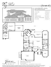 Key West Floor Plans by Floor Plans Joyal Construction