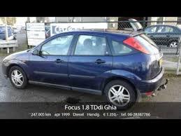 ford focus ghia 1999 ford focus 1 8 tddi ghia bj 1999