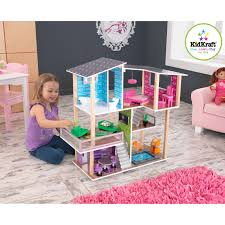 kidkraft modern country kitchen kidkraft modern living dollhouse 65822 hayneedle
