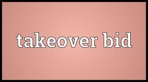 takeover bid takeover bid meaning