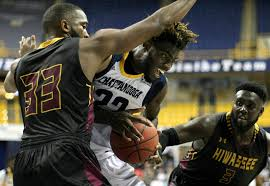 makinde london rodney chatman lead mocs to 94 46 rout of hiwassee