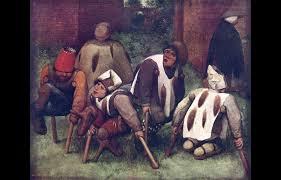 Pieter Bruegel Blind Leading The Blind Pieter Bruegel The Elder