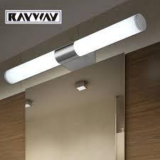 New Modern 8w 10w 40cm 46cm Led Bathroom Light Fixtures Mirror Wall Bathroom Led Lighting Fixtures