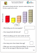 year 2 maths worksheet handling data maths blog