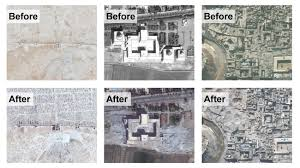syria before and after before and after see how war has damaged syria s cultural sites