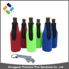 top qualtity neoprene single beer bottle cooler beer bottle cooler