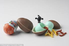 easter egg surprises who helped launch kinder candy with inside dies aged