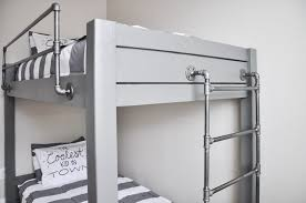 Industrial Bunk Beds Three Level Bunk Bed Space Saving Decker Beds 3 Level