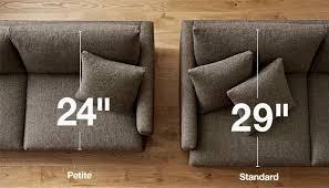 Crate And Barrel Sectional Sofa Lounge Ii 93