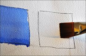 How To Color Wash Wood - how to paint a perfect flat wash on wet or dry paper using