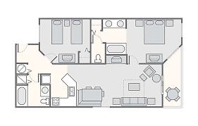 Disney Boardwalk Villas Floor Plan Shore Crest Vacation Villas I U0026 Ii Bluegreen Vacations