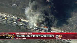 California Wildfires Burn Cars by Wildfire Terror On California U0027s I 15 As People Abandon Cars Flee