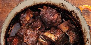 red wine u2013braised short ribs recipe epicurious com