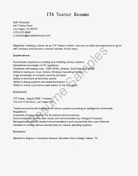 Etl Developer Resume 1 Year Experience Resume Format For Manual Testing Virtren Com