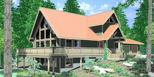 a frame house designs hillside house plan hillside house plans modern seslinerede com
