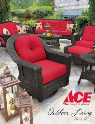 Red Shed Double Glider Chair With Table by Ace Patio Catalog 2013 By Footsteps Marketing Llc Issuu