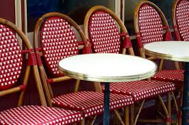 Plastic Bistro Chairs Chair And Table Design Plastic Cafe Chairs The Elegant Cafe