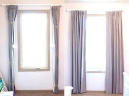 where to hang curtains proper way to hang curtains train your curtains proper way to hang