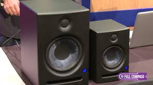 black friday studio monitors presonus eris active studio monitors overview full compass youtube