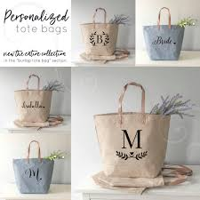 bridesmaids bags bridesmaid gift set of tote bags for bridesmaids bridesmaid