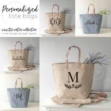 bridesmaids gift bags bridesmaid gift set of tote bags for bridesmaids bridesmaid