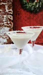 white chocolate peppermint martini snowflake martini cooking with curls