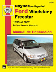 ford windstar 95 03 u0026 ford freestar u0026 mercury monterey 04 07