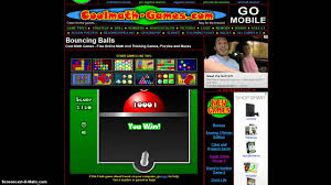 bouncing balls fun free online games youtube